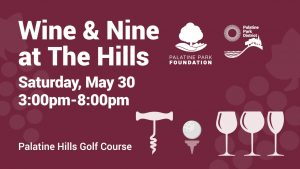 Wine and Nine at the Hills on May 30